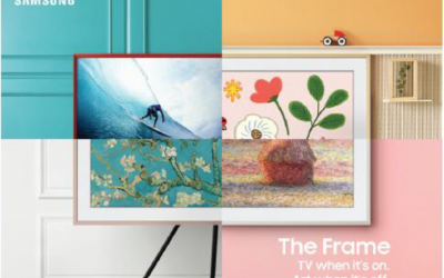 Samsung Frame: TV when it's on, art when it's off!